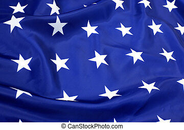 stars in blue  - USA flag