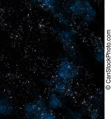 stars in outer space - lots of stars in outer space with...
