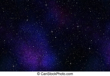stars in space or night sky