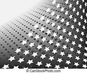 Stars in stripes