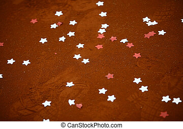 Stars in the ground