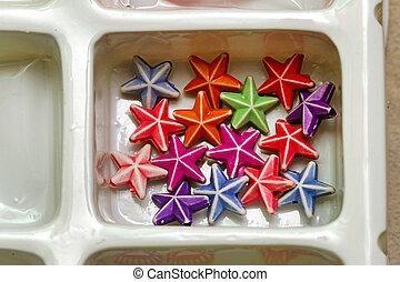 Stars in Tray