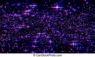 stars light filed abstract particle motion background