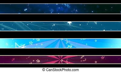 Stars Lower Thirds