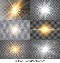 stars., luminoso, jogo