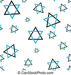 stars of David pattern