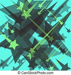 stars on a blue background vector illustration