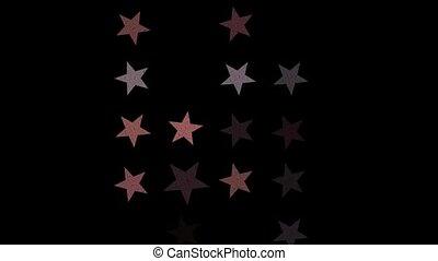 stars on night sky