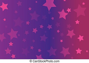 stars on pink background