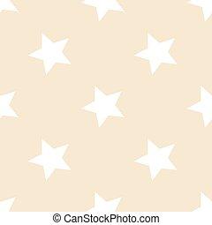 Stars pattern. Seamless vector illustration. Retro, vintage background