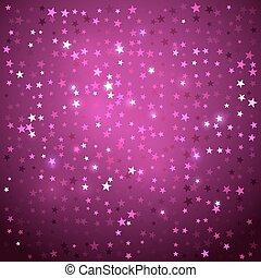 stars., plano de fondo, disco