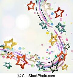 stars., résumé, fond
