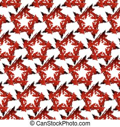 stars., rouges