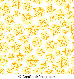 Stars seamless pattern, vector background.