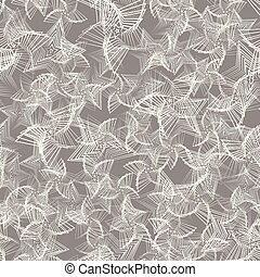 Stars seamless pattern. Vector background