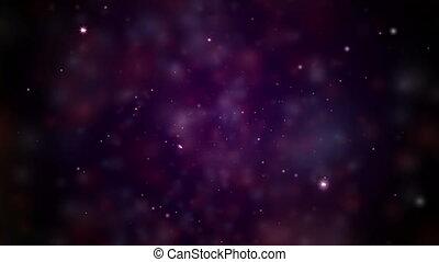 stars sky abstract