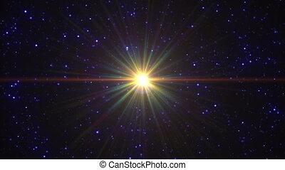 stars sky fly speed