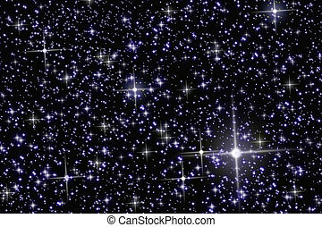 Stars - Space and astronomy. A congestion of stars