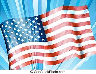 Stars & Stripes American Flag