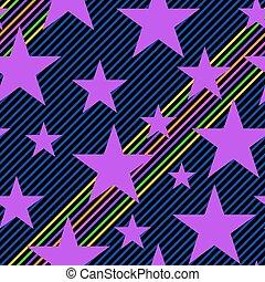 stars stripes pattern