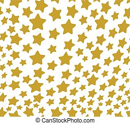 Stars vector seamless pattern