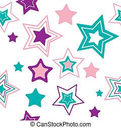stars., vettore, fondo