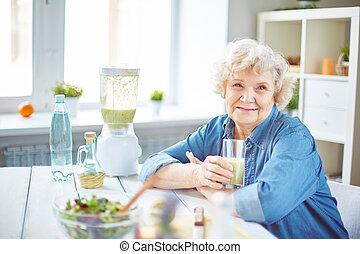 starszy, samica