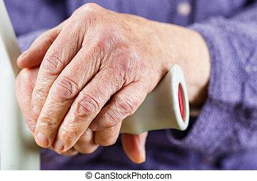 starszy, siła robocza, odpoczynkowy dalejże, wtykać