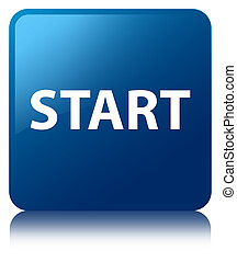 Start blue square button