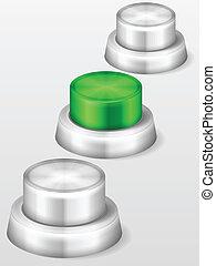 start button vertical