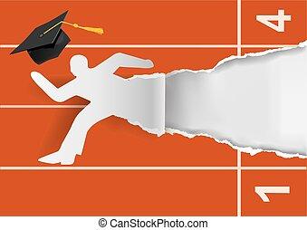 start, career., graduere