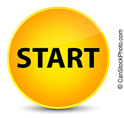 Start elegant yellow round button