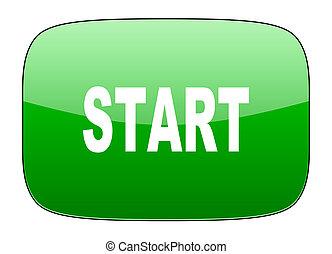 start green icon