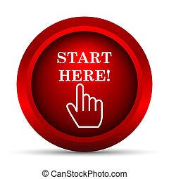 Start here Illustrations and Clipart. 626 Start here ...