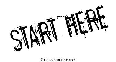 Start here Vector Clipart Royalty Free. 252 Start here ...