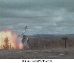 Start intercontinental ballistic missile