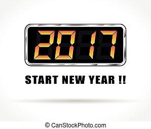 start, jaarwisseling