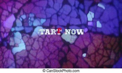 START NOW! - text animation - START NOW!- text animation...