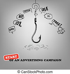 Start of advertising campaign