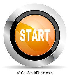 start orange icon