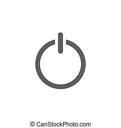 Start power button icon