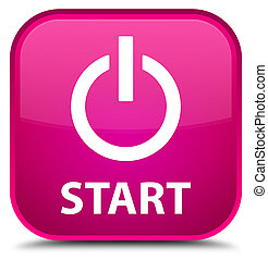 Start (power icon) special pink square button