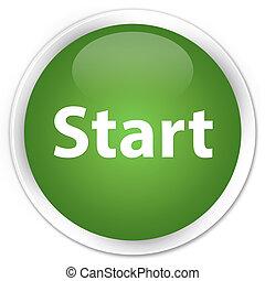 Start premium soft green round button