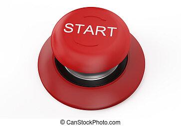 start red button
