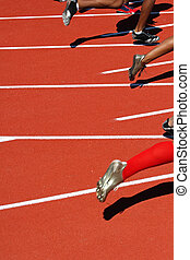 start, rennen, läufer
