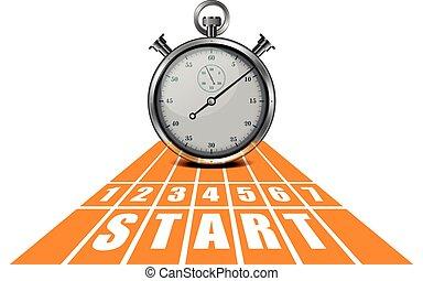 Start Track Stopwatch
