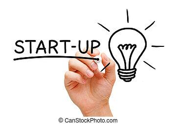 start-up, concept