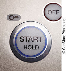 push button - start up with push button