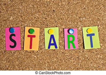 Start word