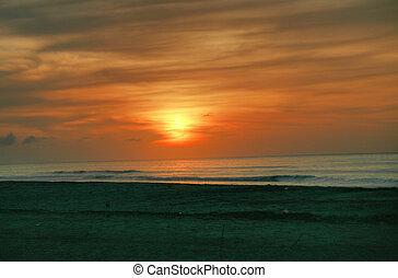 Starting the sunrise